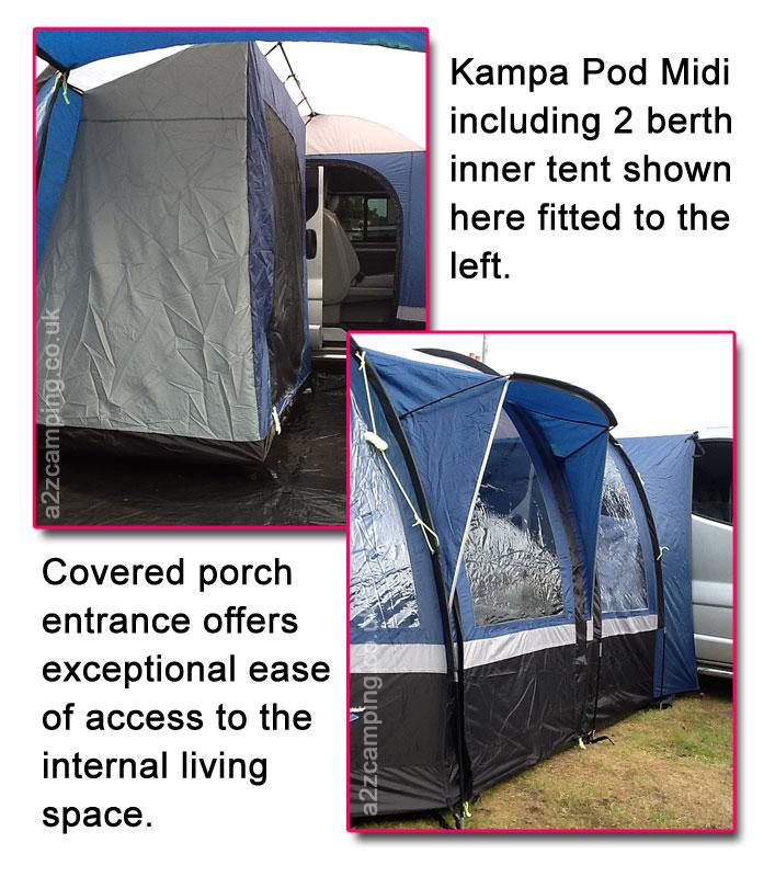 New 2013 Kampa Pod Midi Free Standing Drive Away Stand