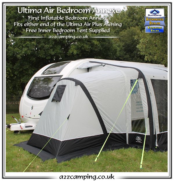 New 2015 Sunncamp Ultima Deluxe Air 390 Inflatable Caravan