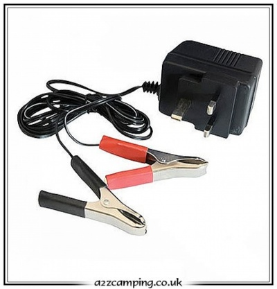 Leisure Battery on 12v Leisure Battery Trickle Charger   A2zcamping Co Uk