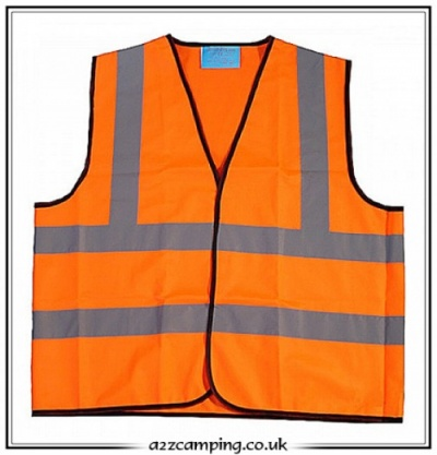 High Vis Reflective Safety Vest