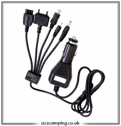 12 Volt In Car Mobile Phone and Mini USB Charger
