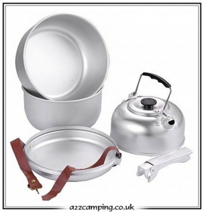 Light Weight 5pc Camping Cook Set