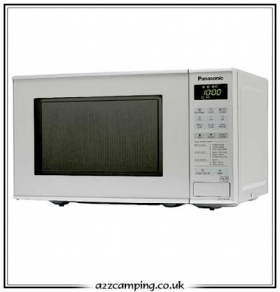 Low voltage microwave for caravan