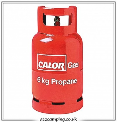 Propane Calor Gas Bottle 6Kg