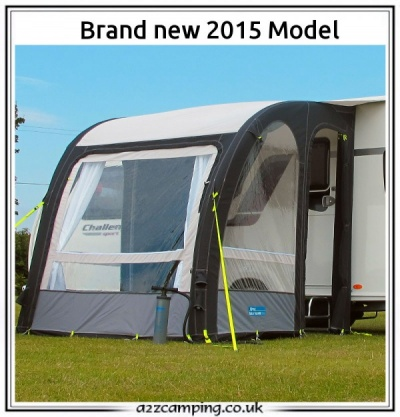 New 2015 Kampa Rally Pro Air 200 Series 2 Caravan Porch
