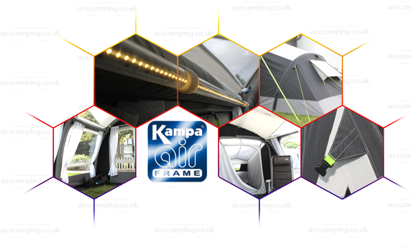 Kampa Motor Rally Air Pro 260 Inflatable Awning