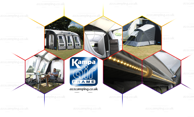 NEW 2016 Kampa Rally 390 Air Pro Blow Pump Up Inflateable ...