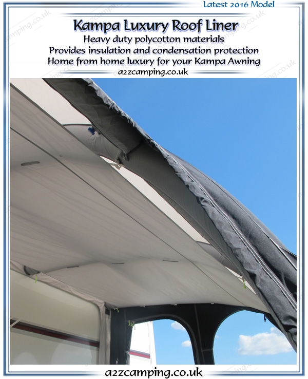 Kampa Awning Luxury Polycotton Roof Liner