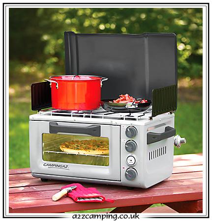 Camping oven blokker