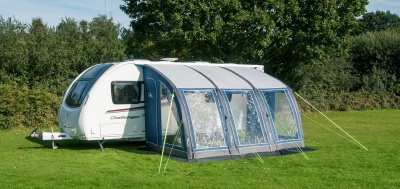 2017 New Sunncamp Curve 390 Air Inflatable Awning
