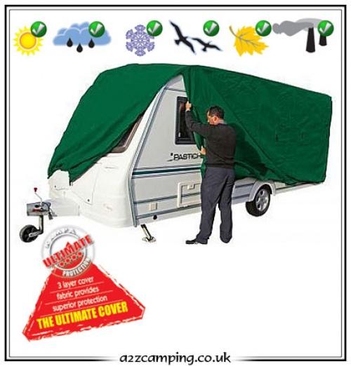 Kampa Prestige 4 Ply Breathable Caravan Cover - a2zCamping ...