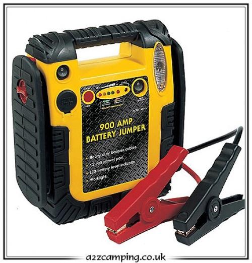 Power Station & Jump Start, Car engine power battery starter