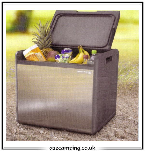 quest 45 litre 3 way cooler camping fridge. Black Bedroom Furniture Sets. Home Design Ideas