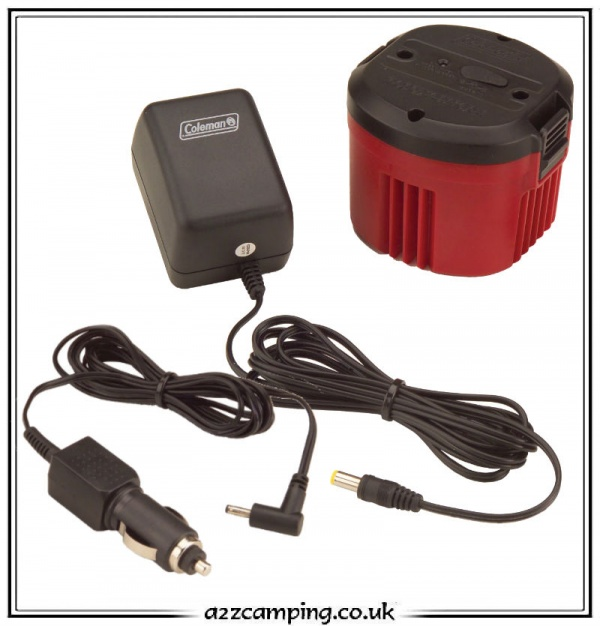Coleman cpx 6 portable led table lamp a2zcampingcouk for 6 volt table lamp