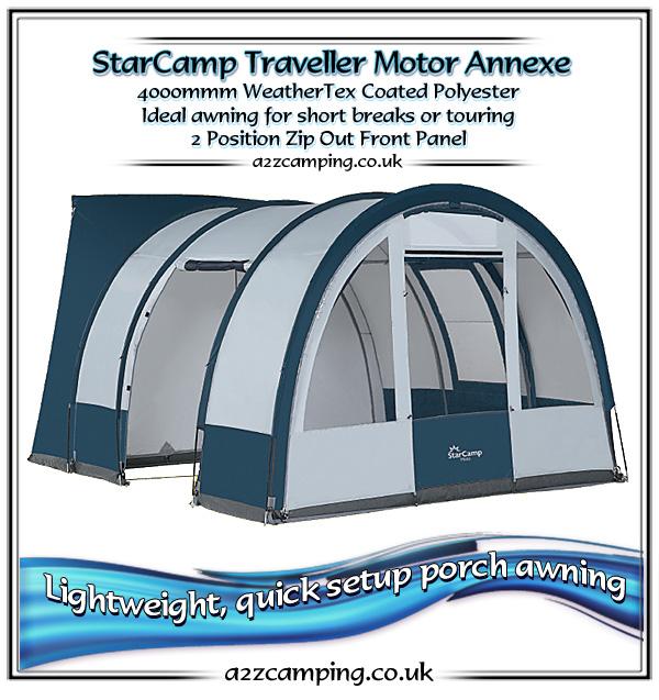 Dorema Star Camp Traveller Lightweight Motorhome Awning