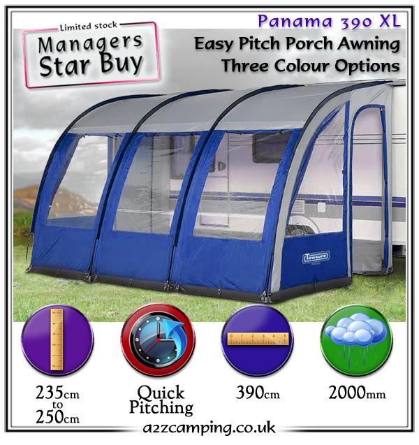 Caravan Awnings: 390 Xl Caravan Porch Awning