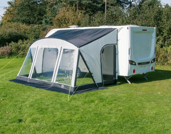 Sunncamp Swift 390 Deluxe Caravan Porch Awning 2017