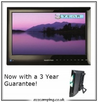 15.6'' Vision Plus Digital TV & DVD Combo with Storage Bag