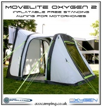 2014 Movelite Oxygen 2 Drive Away Inflatable Motorhome Awning