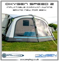 2014 Outdoor Revolution Oxygen Speed 2 Inflatable Air Frame Awning