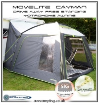 2016 Outdoor Revolution Cayman Free Standing Motor Home Awning