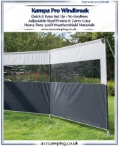 2017 Kampa PRO Heavy Duty Windbreak
