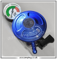 21mm Clip On Butane Regulator with Gas Gauge