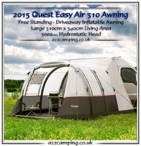 Quest Elite Easy Air 310 Motorhome Inflatable Awning