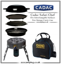 Cadac Safari Chef Portable BBQ with Carry Case