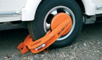 Nemesis Wheel Clamp with storage bag