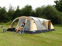Kampa Croyde 6 Classic Air Inflatable Polycotton Tent
