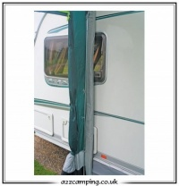 Rear Upright Pole Set for Caravan Awnings