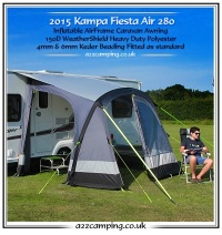 2015 Kampa Fiesta Air 280 Inflatable Awning Series 2