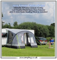 2015 Kampa Fiesta Air 350 Inflatable Awning Series 2