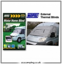 Motorhome External Thermal Blinds