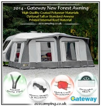 Gateway Leisure New Forest Full Caravan Awning