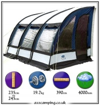 2009 Sunncamp Ultima 390 Plus 150D Awning Blue Only