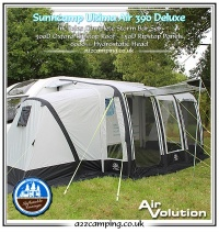 CLEARANCE Sunncamp Ultima Air 390 Deluxe Awning & Annexe Bundle