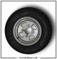 145 x 10 Trailer Tent Spare Wheel & Tyre