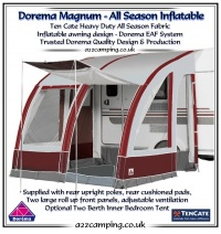 2015 Dorema Magnum Air 260 All Season Inflatable Awning