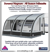 2015 Dorema Magnum Air 390 All Season Inflatable Awning