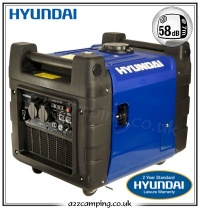 Hyundai HY3600SEi Camping Generator with Remote Control Start