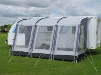 2015 Kampa Rally 390 Classic Pearl Grey Awning (Factory Second)