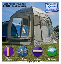 2013 Kampa Travel Pod Xpress with Free UK Delivery