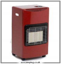 Lifestyle HeatForce Portable Cabinet Gas Heater (Red)