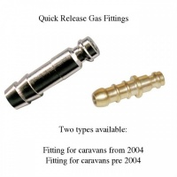 Caravan Quick Release Gas Fitting