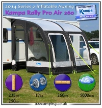 Kampa Club Awning Kampa Rally Awning Kampa Rally Air