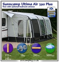 Sunncamp Ultima Air 390 - Inflatable Caravan Awning