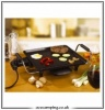 800w Camping Electric Griddle / Hot Plate Low Watt