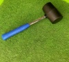 Pennine Leisure Supplies Heavy Duty Rubber Mallet with Metal Stem